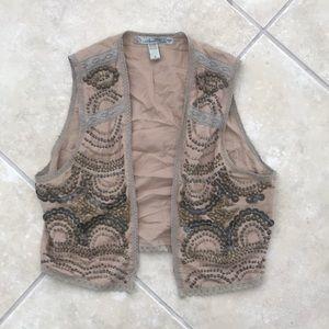 Tops - Beaded vest